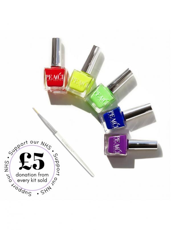 Rainbow Nail Art Kit
